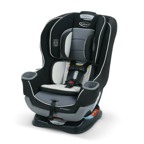 New, Graco Convertible Car Seat, Ride Rear Facing Longer with Extend2Fit, Gotham