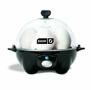 NEW! Dash Rapid Egg Cooker with Auto Shut Off Feature - Blac