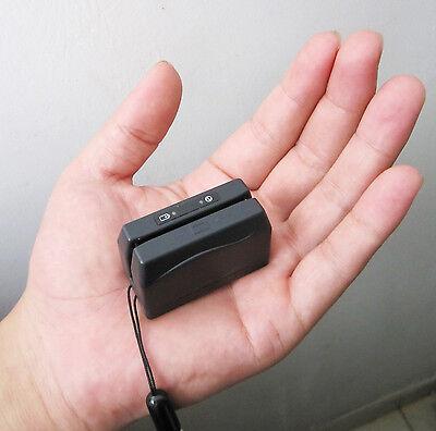 Minidx3 Portable Mini Magnetic Credit Card Reader Data Collector Magstripe Strip