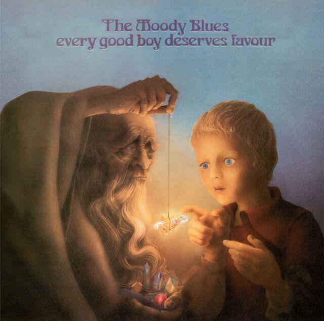 THE MOODY BLUES (NEW SEALED CD) EVERY GOOD BOY DESERVES FAVOUR + 2 BONUS TRACKS
