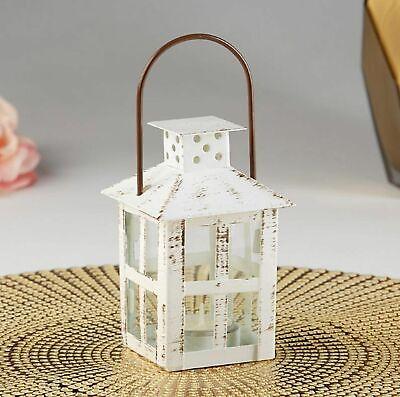 Vintage Themed Party (White Mini Lantern Vintage Theme Rustic Wedding Table Decor Party Favors)