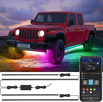 Exterior Car LED Lights RGBIC Car Lights App Control Music Strip Driving Govee