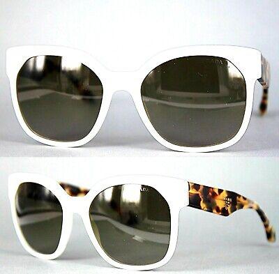 Prada Damen Sonnenbrille PR10RS 7S3-1X1 57mm weiß 151 6