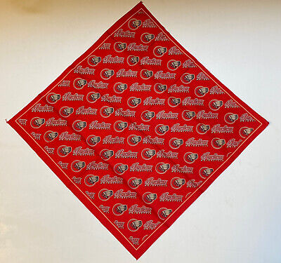 GENUINE INDIAN MOTORCYCLE BRAND BANDANA RED SCOUT CHIEF
