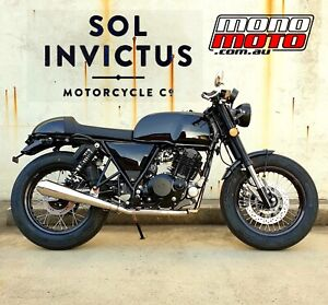 NEW 2021 250cc SOL INVICTUS MERCURY MK2 CAFE RACER LAMS Brendale Pine Rivers Area Preview