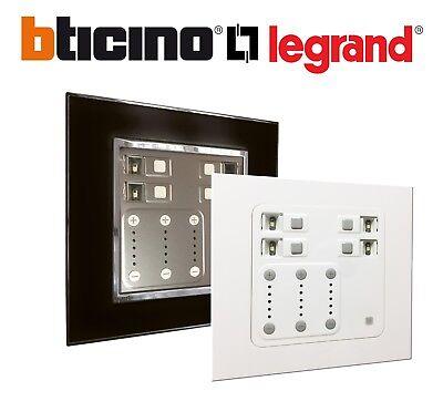 Legrand Arteor Bticino RGB Electronic Dimmer Switch Lighting Control 3x 1000w