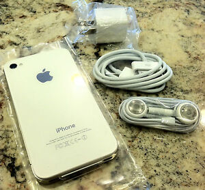 APPLE-IPHONE-4-8GB-SPRINT-CLEAN-ESN-NEW-WHITE-WARRANTY