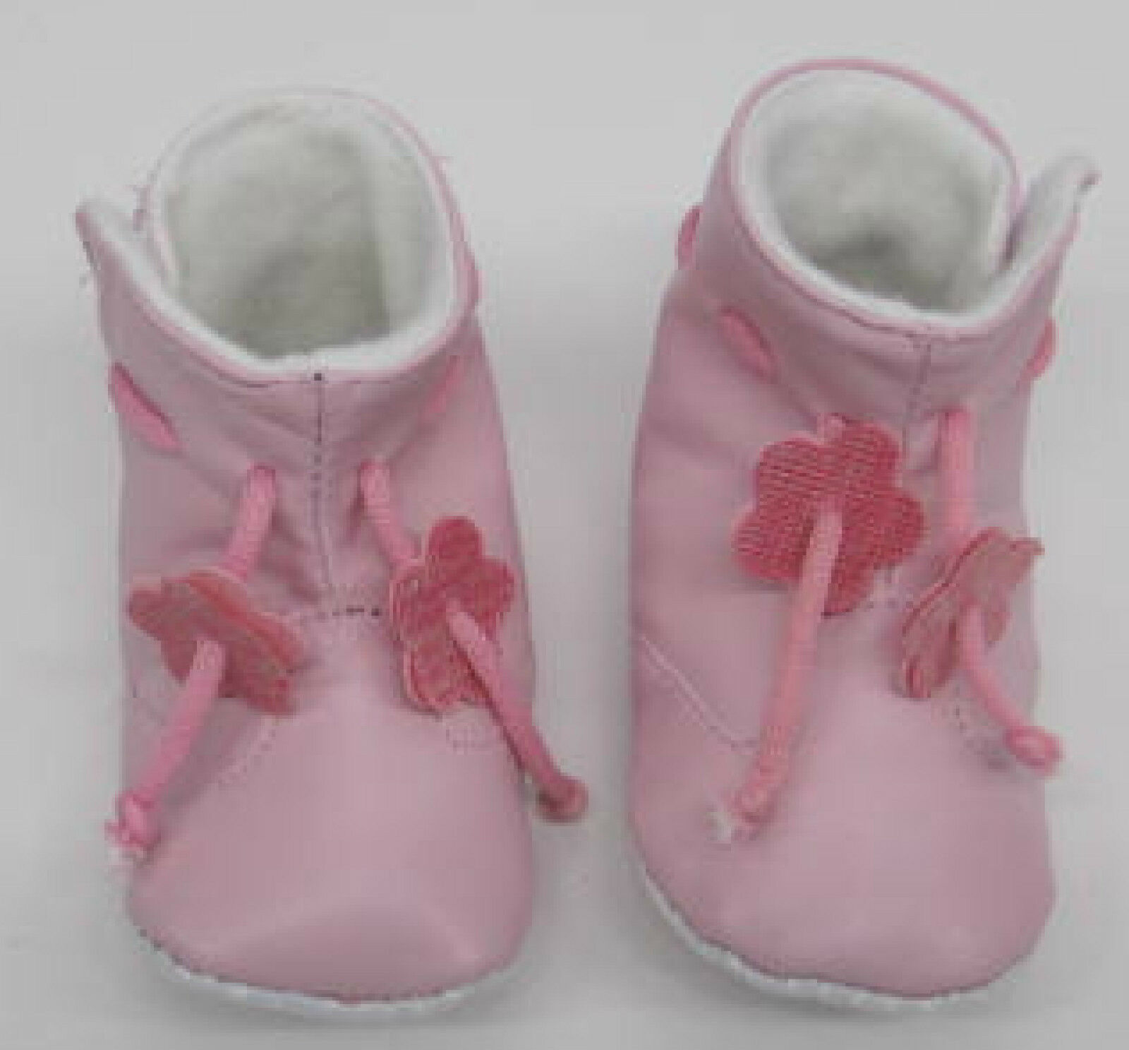 Pink Booties Boots Pram Shoes New 0 to