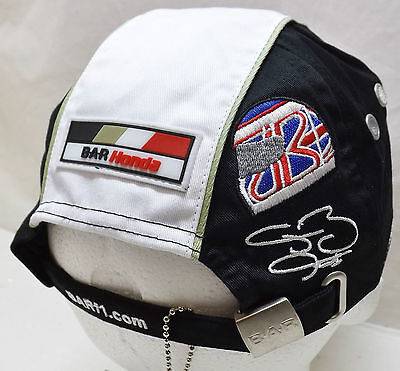 JENSON BUTTON BAR HONDA FORMULA 1 RACING TEAM OFFICIAL CAP - NEW WITH TAGS
