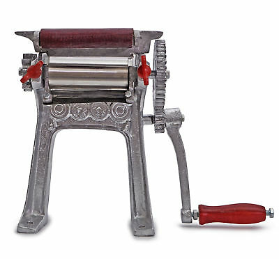 Used, Cast Iron Brass Hand Press Dry Squid Meat Extractor Fruit Sugar Cane for sale  Westfield