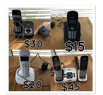 Home phone cordless answering machine or simple working
