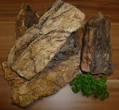 1 kg POLMONE BOVINO CONVENIENTE COME Rumine DI CUORE CIBO PER CANI Carne secca