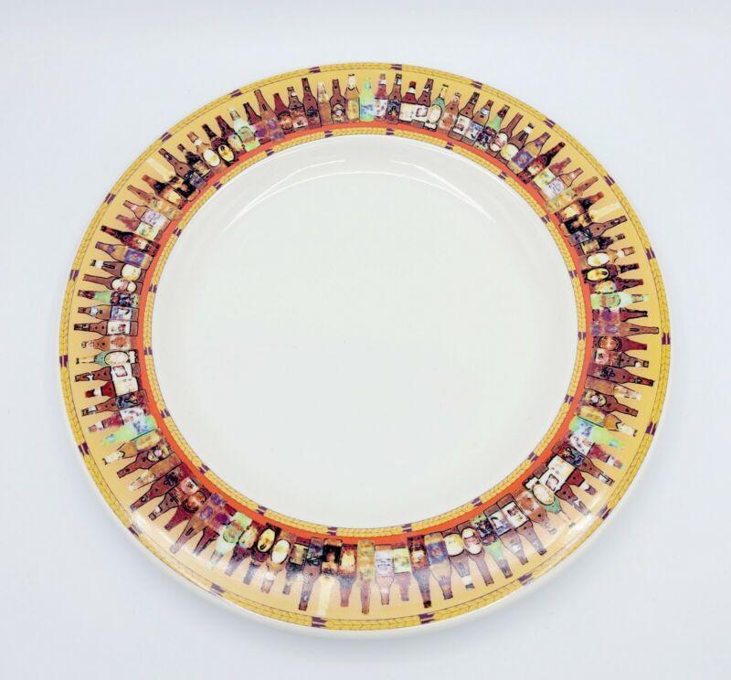 "Vintage Syracuse China 12"" Ninety-nine Bottles Of Beer Charger / Chop Plate"