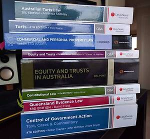 Law Textbooks Murrumba Downs Pine Rivers Area Preview