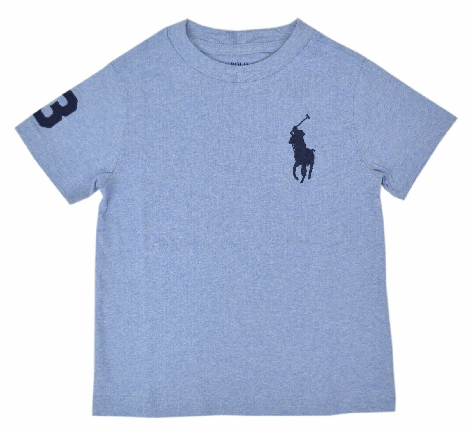 Ralph Lauren Polo Kids Boys Polo Shirts Size S color blue 8