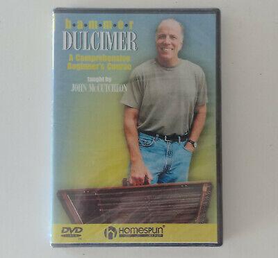 Hammer Dulcimer: A Comprehensive Beginner's Course [DVD] *NEW SEALED Hal Leonard