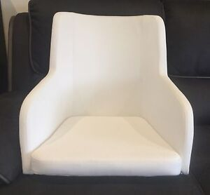 Modern Valley Dining Tub Chairs White Metal Legs X 4 Geelong West Geelong City Preview