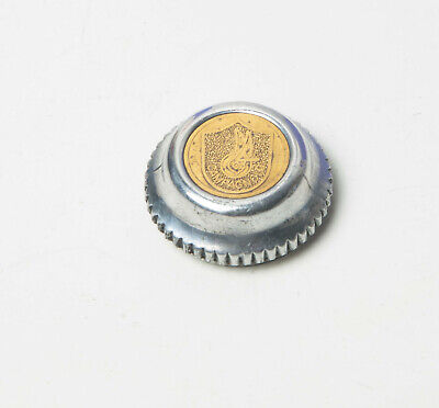 Dust caps for Vintage Campagnolo 50th Anniversary Pedals New Super Record chrome