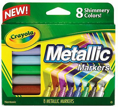 Crayola Metallic Markers - 8 - Crayola Metallic Markers