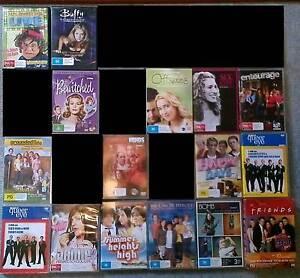 TV SERIES DVDS (131) $12.50 EACH AD #1 OF 2 Devonport Devonport Area Preview