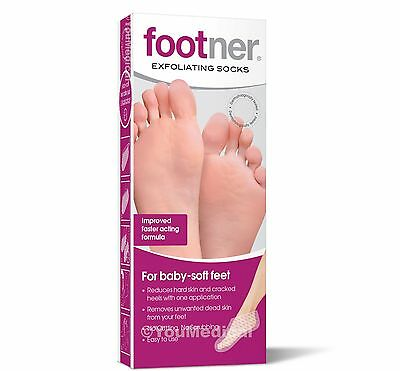 Footner Exfoliating Socks - Callus and Hard Skin Remover - Foot Care Pedicure