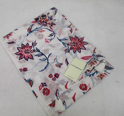 Women's Lucky Brand Floral Scarf NWT