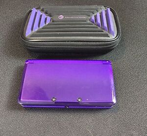 Purple 3DS and 3DS case