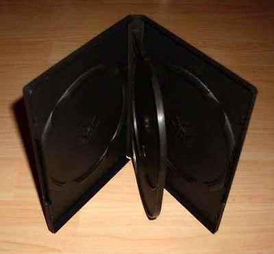 3 DVD Hüllen Case Cases 4fach 4er DVDhülle Hülle Mehrfachhülle für 4 DVDs Neu