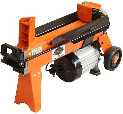 Electric 5 Ton Hydraulic Log splitter Fast wood timber cutter  2200 watt motor