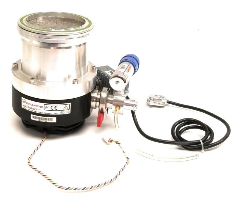 BOC Edwards EXT255H 24V Turbomolecular Vacuum Pump B753-01-991 w/ Controller