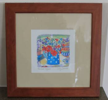 Lucy Davies Wooden Framed Print (Pre-Loved) #0566