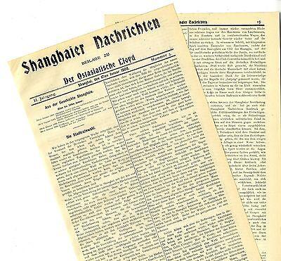Felddienstübung d. deutschen Freiwilligenkompagnie * Shanghaier Nachrichten 1908