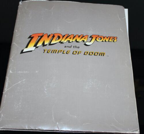 ORIGINAL INDIANA JONES TEMPLE OF DOOM PRESS KIT 26 PIX HARRISON FORD