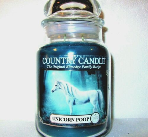 """Kringle Country Candle """"Unicorn Poop""""- Limited Edition - Large 23 oz~2-wick~RARE"""