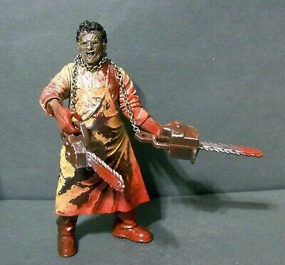 Customized figure of LEATHERFACE from texas chainsaw massacre -the saw is family for sale  Greenwood