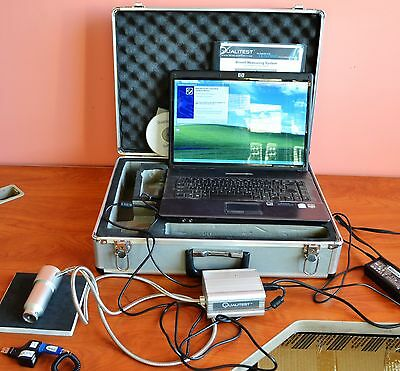 Qualitest Brinell Measuring System Qualiscope Ii Portable Hardness Tester