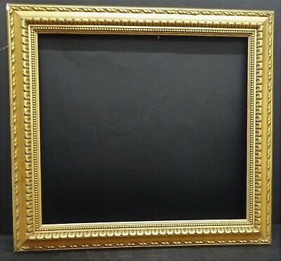 Frame Wood Golden 50 Years /60 - 70 x 65 cm Traveling in time Torino Painting
