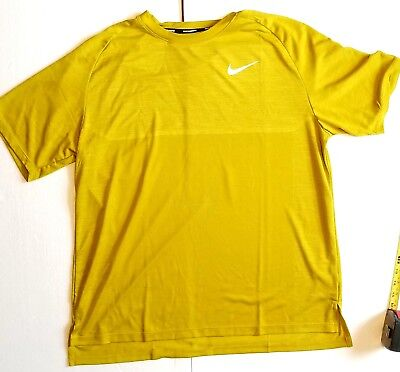Nike Dry-Fit Element Running Short Sleeve Shirt Athletic Men's Sports Online Top ()