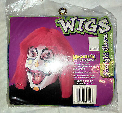 Yellow Clown Wig (Funny Yellow Wig - Clown Costume Accessory New!)