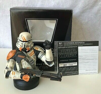 Star Wars Airborne Trooper Bust Gentle Giant not Sideshow Statue