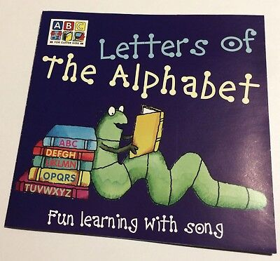 LETTERS OF THE ALPHABET Fun Learning With Song CD 2000 Sean O'Boyle ABC For - Learning The Alphabet Song