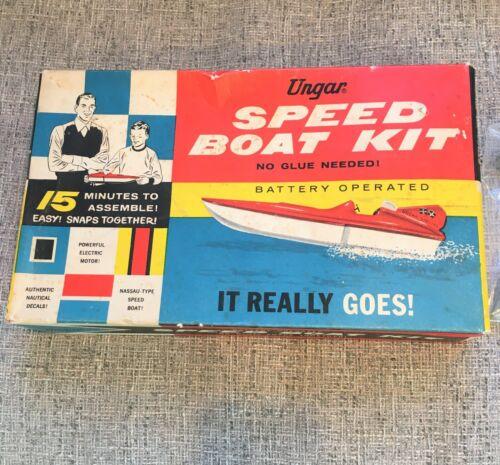 Vintage Boat model