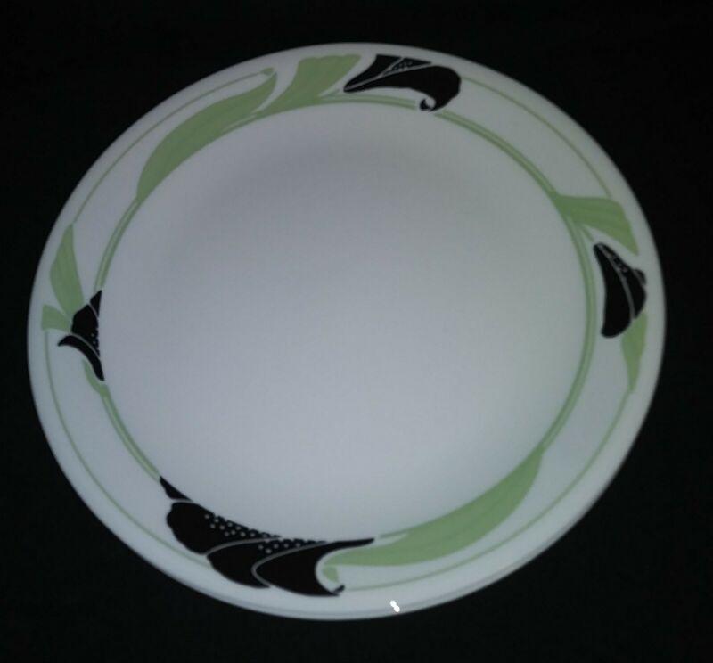 Corelle Black Orchid Dinner Plates Set Of 4
