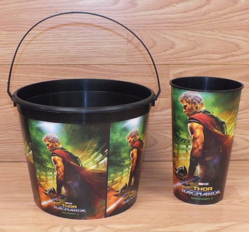 Marvel Studios Thor Ragnaok Movie Punch Hulk Bucket Popcorn Cinemas Theatres