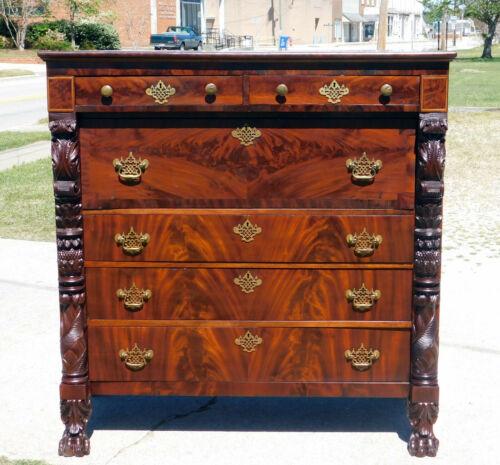 Fantastic Mahogany Butlers Desk Chest circa 1830