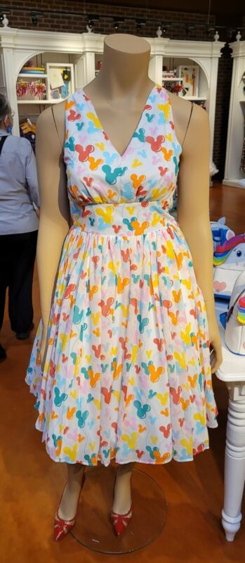 2021 Disney Parks The Dress Shop Mickey Mouse Balloons Dress NEW NWT XL