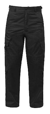 9 Pocket Emt Pant (7823 Rothco 9 Pocket Black Tactical EMT Uniform Pants)