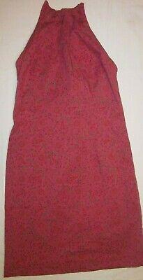 Women's Ralph Lauren Halter Dress Floral/Paisley size 2