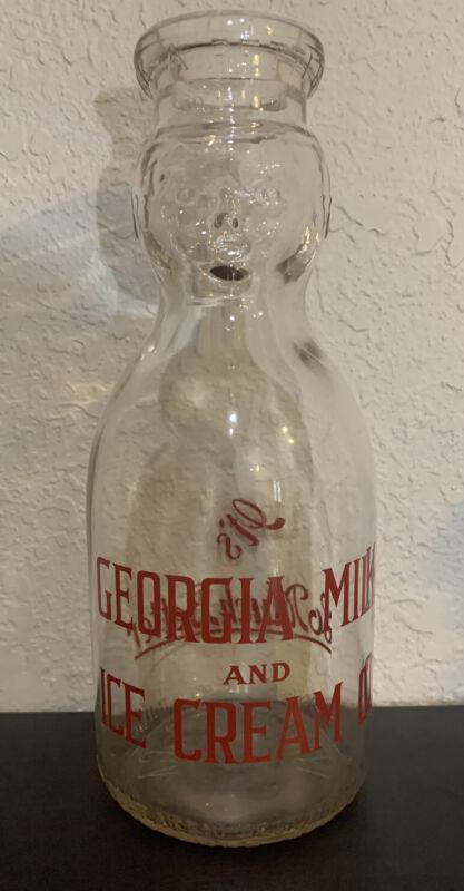 Georgia Milk and Ice Cream Company, Quart Milk Bottle