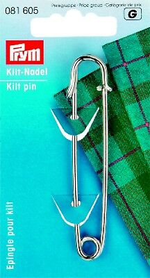 Spilla da Kilt FERRO STIRO antiruggine 76mm 1 pezzo Prym 081605